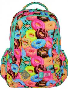 Plecak Ciasteczka St. Right Młodzieżowy Szkolny Donuts [BP26]