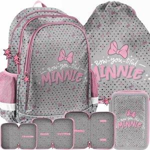 Plecak Szkolny Myszka Minnie Dziewczęcy do 1 Klasy [DNF-081]