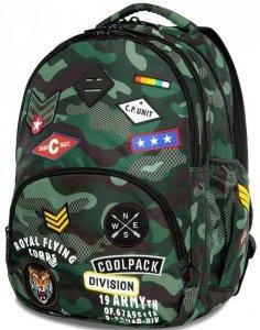 Plecak CoolPack CP MORO Młodzieżowy Naszywki [A16110]