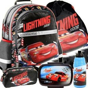 Plecak Szkolny Zygzak z Autem Cars Chłopięcy [DSB-116]