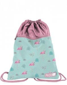 Piękny Worek na Obuwie Flamingi dla Dziewczyny [PPLF19-713]