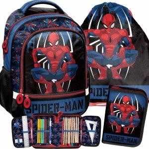 Spider Man Plecak Szkolny do 1 klasy Paso Komplet 3w1 [SPY-260]