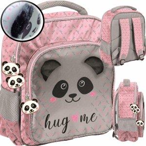 Plecak do Zerówki Przedszkola Miś Panda z Pluszowymi Uszami [PP20PA-337]