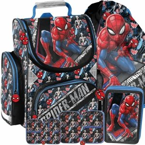 Chłopięcy Tornister Szkolny Spider Man do Szkoły [SPW-525]