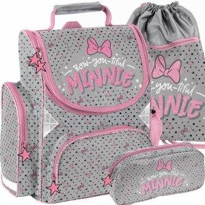 Myszka Mini Tornister do 1 Klasy Szkolny Paso dla Dziewczynk Minnie [DNF-525]