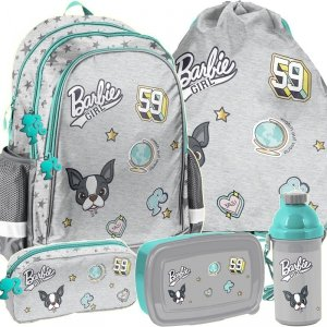 Plecak Szkolny Barbie dla Dziewczyny Komplet [BAR-081]