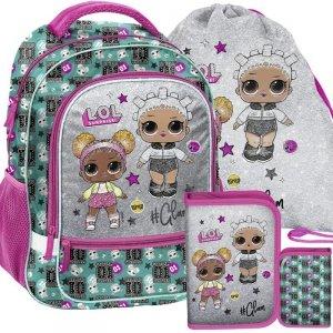 Szkolny Plecak dla Dziewczynki Lol Surprise [LOL-260]