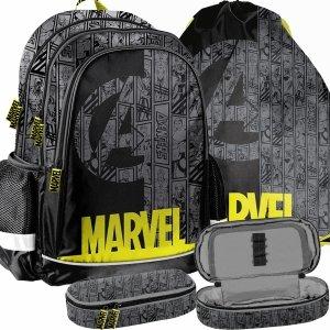 Avengers Plecak dla Fana Superbohaterów Marvel do Szkoły Zestaw [ANA-081]