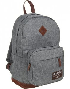 Szary Plecak Vintage Damski Młodzieżowy [19-229S]