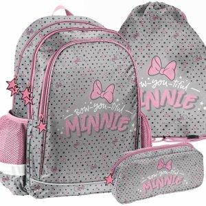 Plecak Szkolny Myszka Minnie dla Dziewczyny do Szkoły [DNF-081]