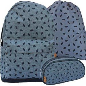 Plecak Listka dla Dziewczyny Młodzieżowy Komplet Beniamin [608599]