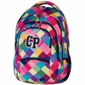 Modny Plecak CP CoolPack Szkolny Młodzieżowy Różowy Patchwork [59756CP]