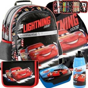 Szkolny Plecak Zygzak Auta Cars dla Uczniów [DSB-116]