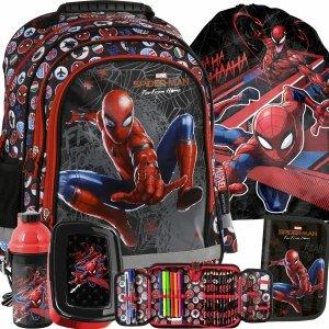 Plecak Spider-Man dla Chłopaka do Szkoły Podstawowej [PL15BSM13]