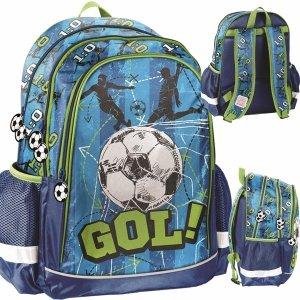 Plecak dla Chłopaków Szkolny Piłka Nożna Paso [PP20FB-081]