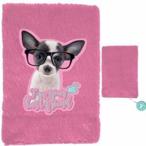 Pamiętnik Pluszowy Pies dla Dziewczynek z Pieskiem [PTD-3670]
