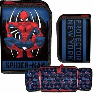 SpiderMan Piórnik dla Chłopaka Szkolny Marvel [SPY-001/BW]