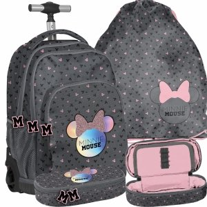 Plecak na Kółkach Myszka Minnie dla Dziewczyny [DMNA-671]