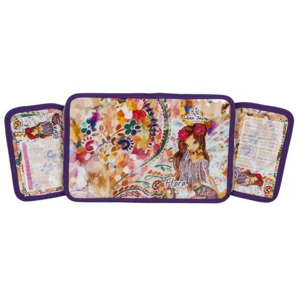 Piórnik Winx Fairy z Wyposażeniem Rozkładany do Szkoły