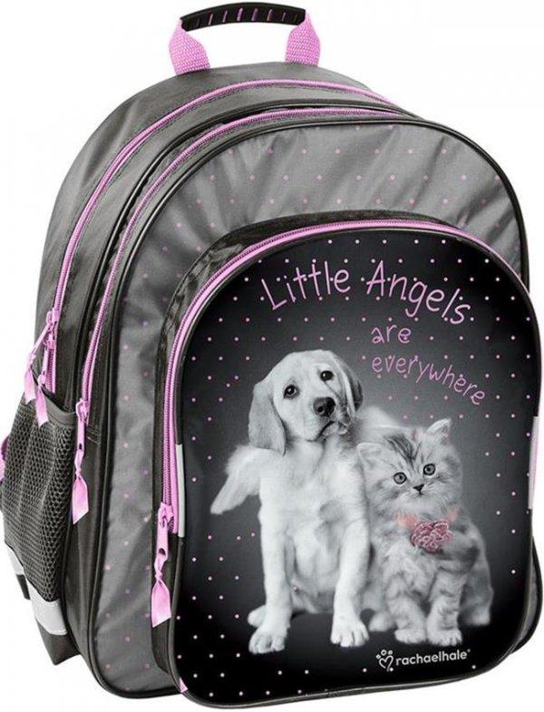 Plecak Szkolny Piesek Kotek dla Dziewczyny [RHG-090]