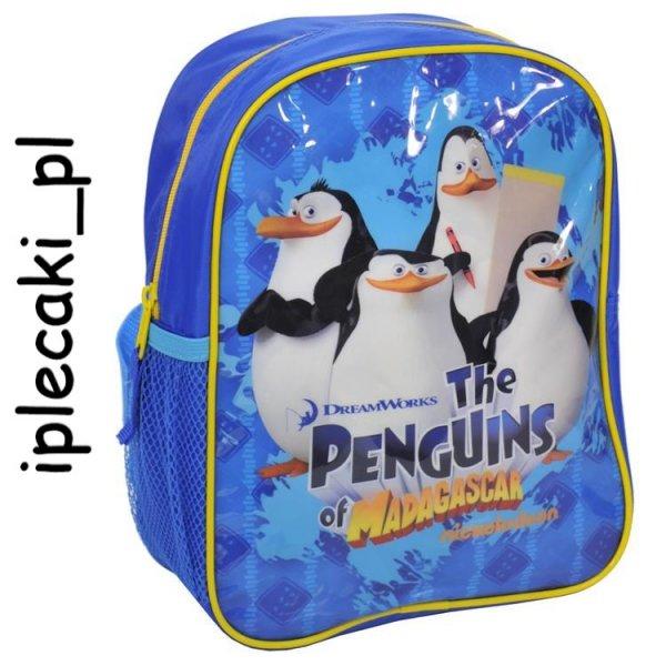 Plecaczek Mały Plecak Pingwiny z Madagaskaru