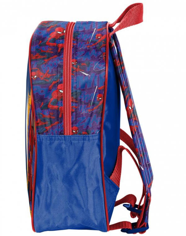 Plecak Spiderman 3D dla Chłopaka na Wycieczki do Przedszkola [SPU-503]