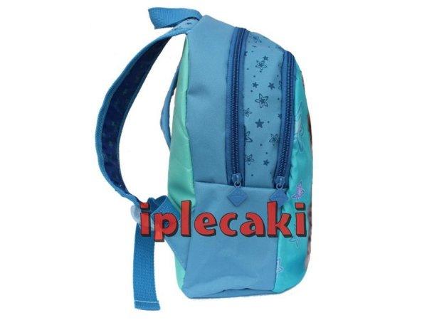 plecak przedszkolny z kotkiem niebieski zielony dla dziewczyny wycieczkowy