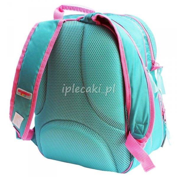 Plecak szkolny piórnik z wyposażeniem worek na Obuwie Dzwoneczek Wróżki DDZ-102