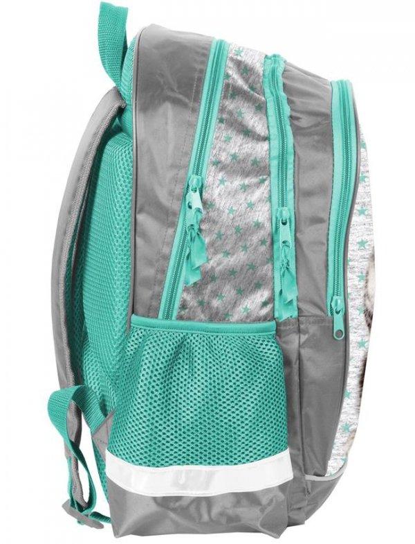 Plecak Szkolny z Kotkiem dla Dziewczyny Uczennicy [PER-081]