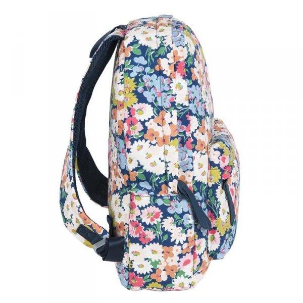 Plecak Kwiatowy Vintage dla Dziewczyny Młodzieżowy Szkolny 17-223F