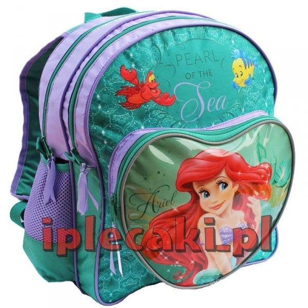 Plecak Szkolny Księżniczka Arielka Disney dla dziewczyny DSY-157