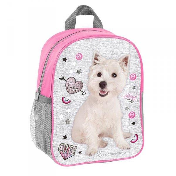 Plecak do Przedszkola Plecaczek z Pieskiem na Wycieczki dla Dziewczynki