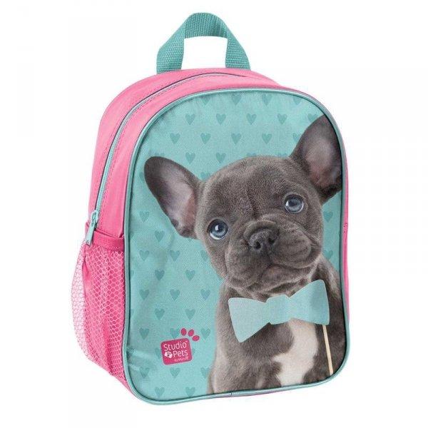 Plecak Przedszkolny Plecaczek z Pieskiem na Wycieczki dla Dziewczynki PEM-303