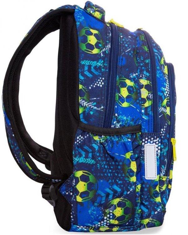 Plecak CoolPack Cp Młodzieżowy Piłka Nożna FOOTBALL BLUE [B25037]
