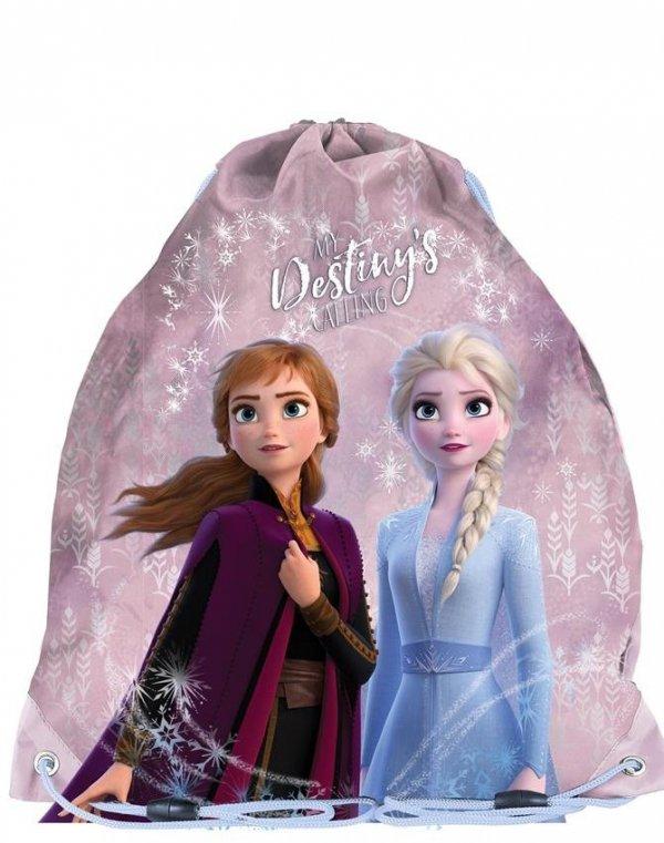 Plecak Kraina Lodu dla Dziewczynki Szkolny Zestaw [DOE-081]