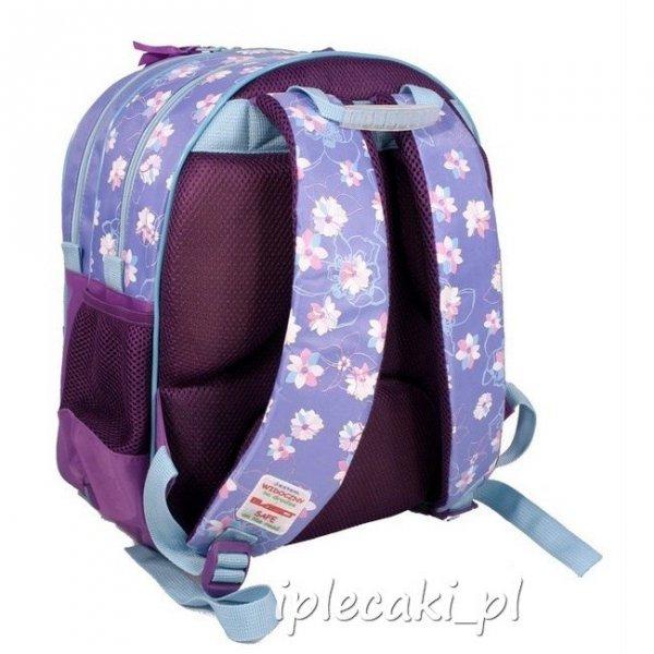 Plecak szkolny piórnik z wyposażeniem worek na kapcie Wróżka Dzwoneczek Wróżki