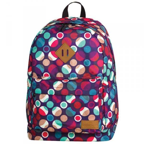 Plecak CoolPack CP Szkolny Młodzieżowy Mosaic Dots 72540cp