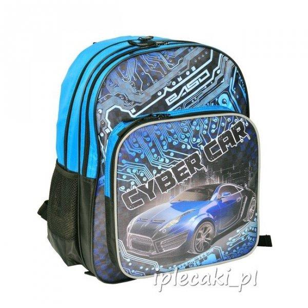 Plecak Szkolny z Autem Cyber Car