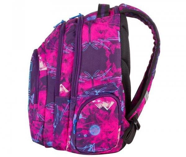 plecak cp coolpack szkolny młodzieżowy filetowy różowy dla dziewczyny
