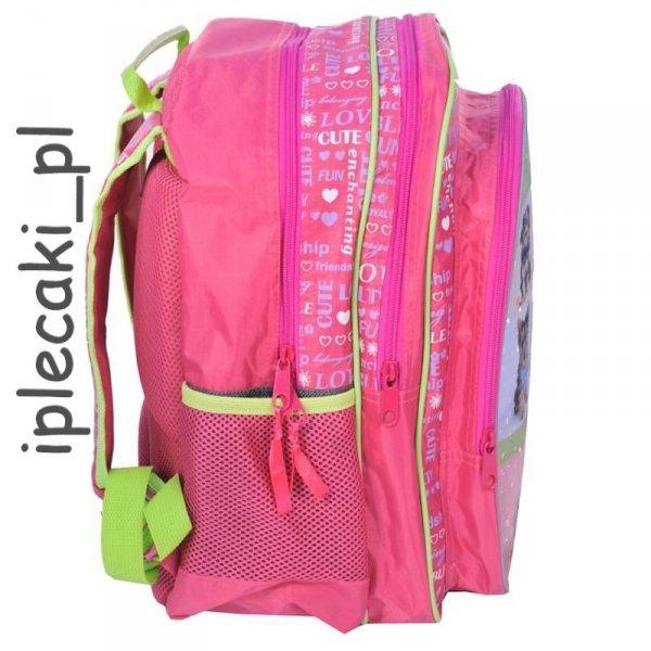 Plecak szkolny piórnik worek gimnastyczny z pieskiem pies piesek RAP-080