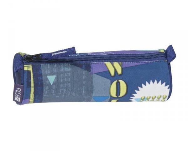 Piórnik Młodzieżowy Szkolny Tuba Niebieski 17-003UE