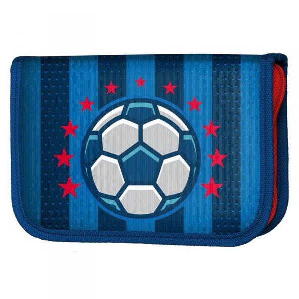 Piórnik z Piłką Soccer Szkolny dla Chłopaka z Wyposażeniem 17-001P