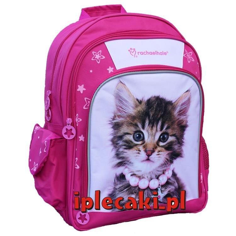 080de83239f2f Plecak z Kotkiem Kotem Kot Kotki Szkolny dla Dziewczyny iplecaki.pl