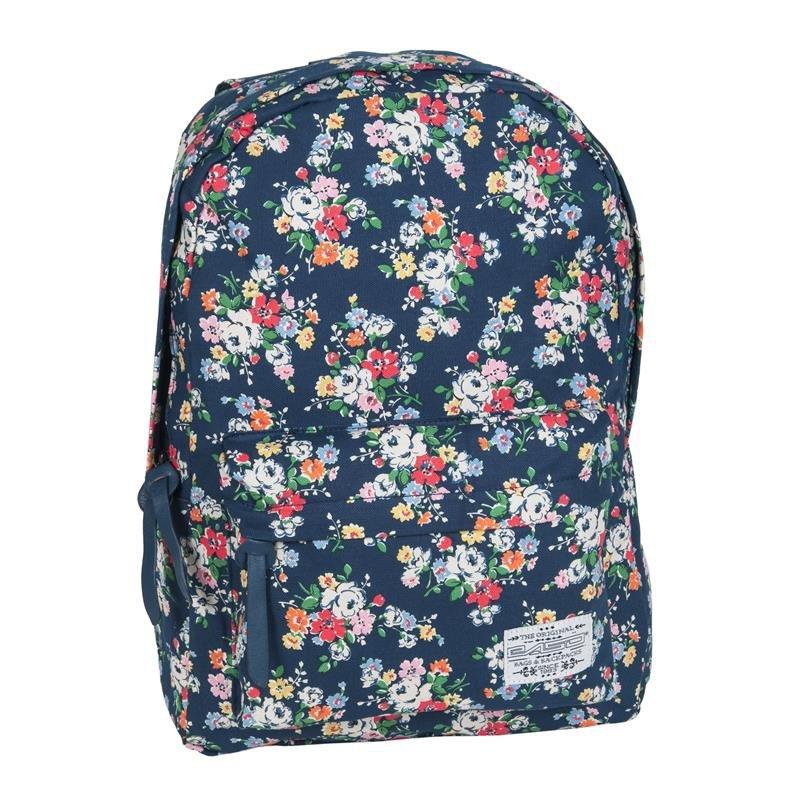 cb96001e838f0 Plecak Vintage dla Dziewczyny Młodzieżowy Szkolny Kwiaty iplecaki.pl