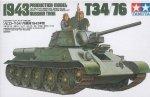 TAMIYA 35059 1/35 T-34/76 - 1943