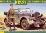 ACE 72289 1/72 Kfz.21 with Rommel figure