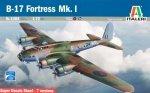 Italeri 1304  B-17 MK I FORTRESS 1:72