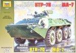 ZVEZDA 3587 BTR-70 WITH MA-7 1/35