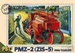 PST 72052 1/72 PMZ-2 ( ZIS-5 ) FIRE TANKER