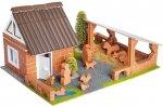 Teifoc 4600 Farma ze zwierzętami budowla z cegiełek